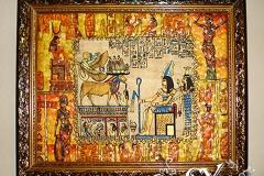 Артикул № К36. Цена  3500 р. Настенный декупаж  из папируса 38-48 см.