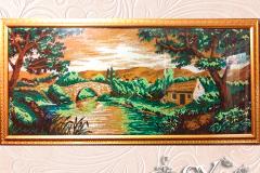 Артикул № К17. Цена 50000р.  картина бисер 50-120 см.