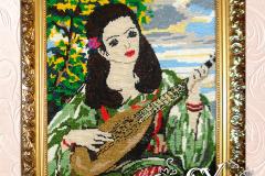 Артикул № К18. Цена 20000р. картина вышивка 48-55 см.