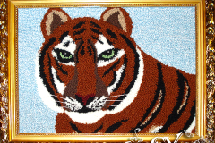 Артикул № К21. Цена 5000р. картина гобелен  38-48 см.