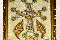 Артикул № К13. Цена 3500р.  картина  Крест 30-40 см.