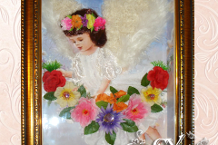 Артикул № К22. Цена 3500р. картина коллаж 26-35 см.