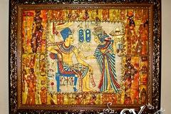 Артикул № К35. Цена  3500 р. Настенный декупаж  из папируса 38-48см.