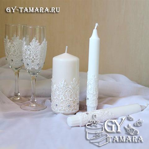 Изготовление свечи на свадьбу своими руками - Zerli.ru