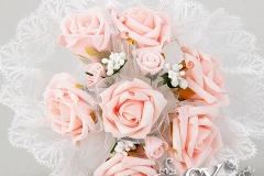 Артикул-№БН15 .Цена-1500р.свадебный букет невесты