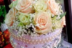 Артикул-№-БН1.Цена-4000р.свадебный букет невесты