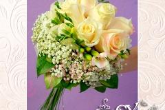 Артикул-№-БН14.Цена-2500р.свадебный букет невесты