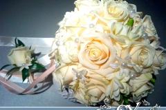 Артикул-№-БН16.Цена-3500р.свадебный букет невесты