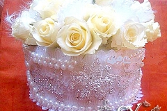 Артикул-№-БН3.Цена-4000р.свадебный букет невесты