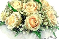 Артикул-№-БН8.Цена-3500р.свадебный букет невесты