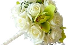 Артикул-№-БН12.Цена-2500р.свадебный букет невесты