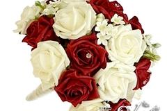 Артикул-№-БН5.Цена-3500р.свадебный букет невесты