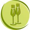 Свадебные бокалы на заказ в СПб
